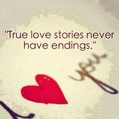 true love stories never have ending